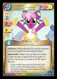My Little Pony Cheerilee, Cheerileeder Defenders of Equestria CCG Card