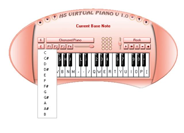 Top 5 ứng dụng piano trên máy tính chất lượng