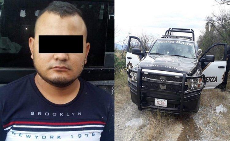 """Tras fuerte enfrentamiento elementos de la Fuerza Civil capturan a """"El Chino"""" lider del CDN en los límites de Cadereyta, NL"""