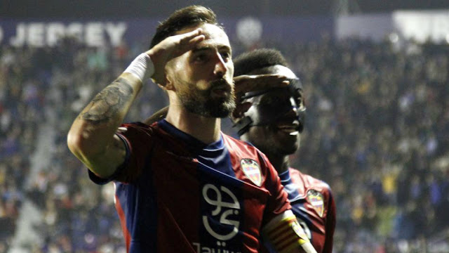 Video Cuplikan Gol Levante 2-1 Sevilla Goals & Highlights