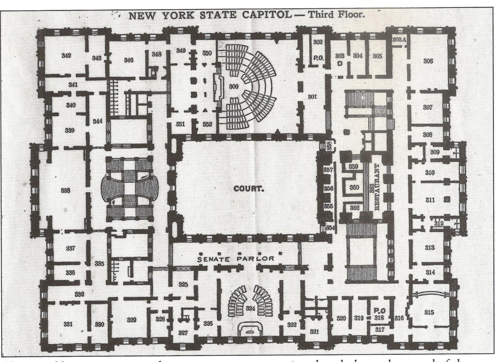 StevenWarRan  New York State Capitol Floor Plans StevenWarRan