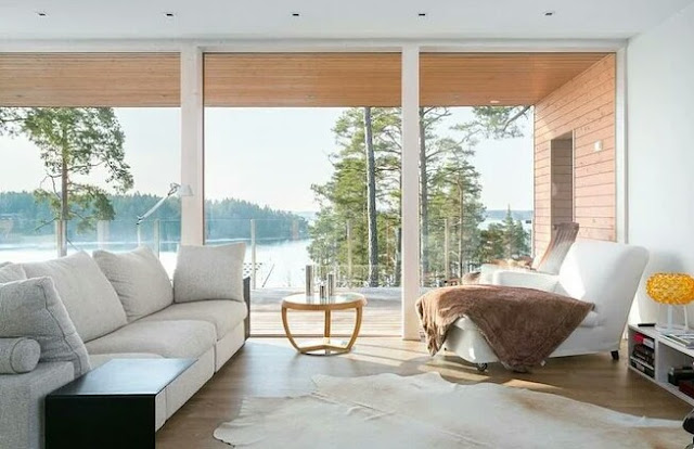 The atmosphere of a Finnish house