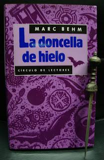 Portada del libro La doncella de hielo, de Marc Behm
