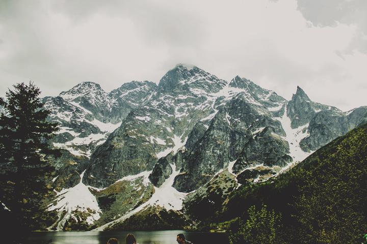 góry, polska, morskie oko, tatry, jezioro, wycieczka, trip, poland, polish mountains, mountain, snow