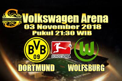 Judi Bola Dan Casino Online - Prediksi Pertandingan Bundesliga Jerman Wolfsburg Vs Dortmund 03 November 2018