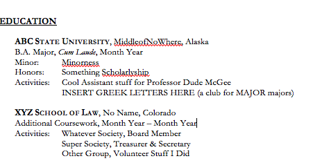 Resume Examples For College Dropouts - frizzigame