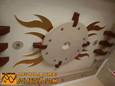 Decoration salon marocain platre 2016 for Dicor platre 2016