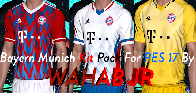 PES 2017 FC Bayern Munich Fantasy Kits By Wahab Jr