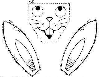 Mascaras de conejos y actividades