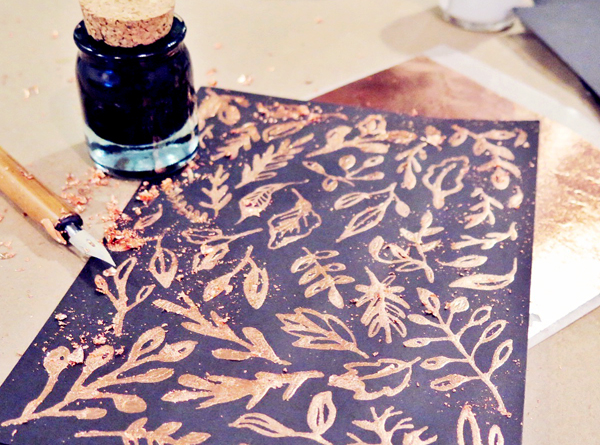 Copper Foil Craft Ideas