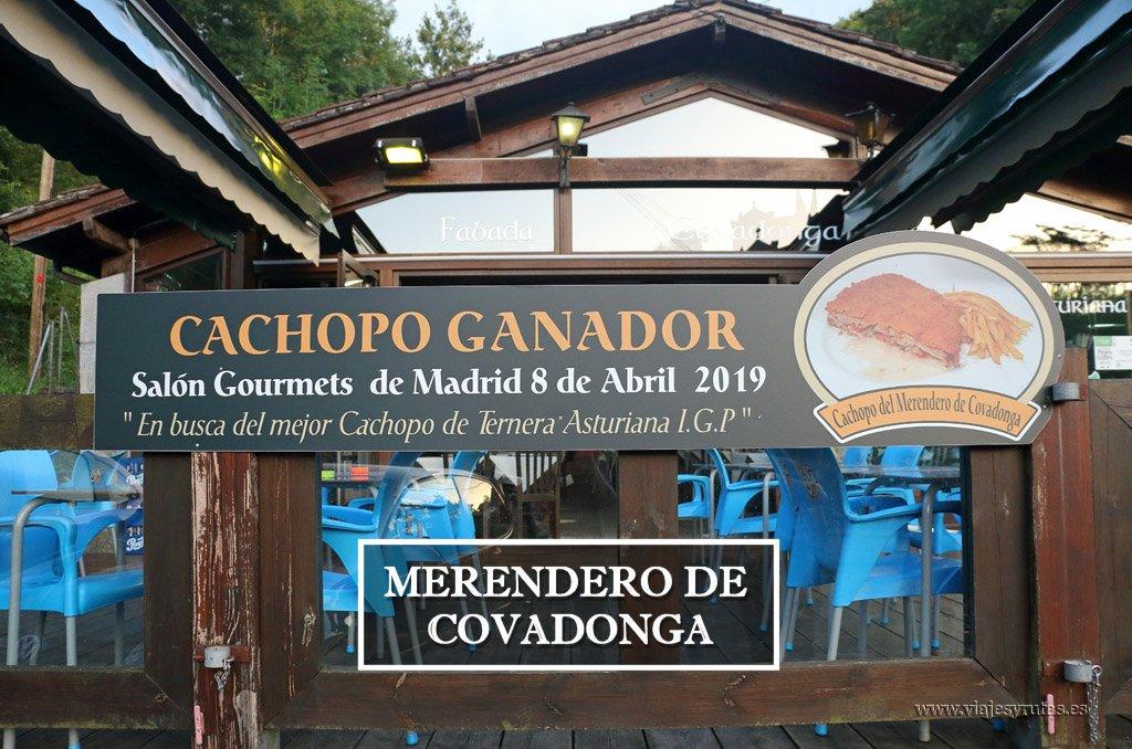 El Merendero de Covadonga, (Asturias)
