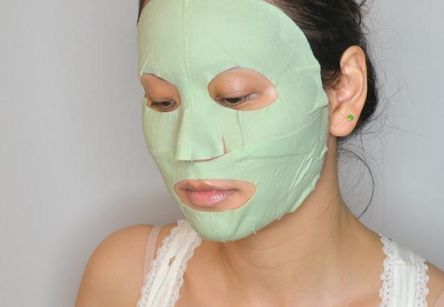 sephora collection mud sheet mask selfie