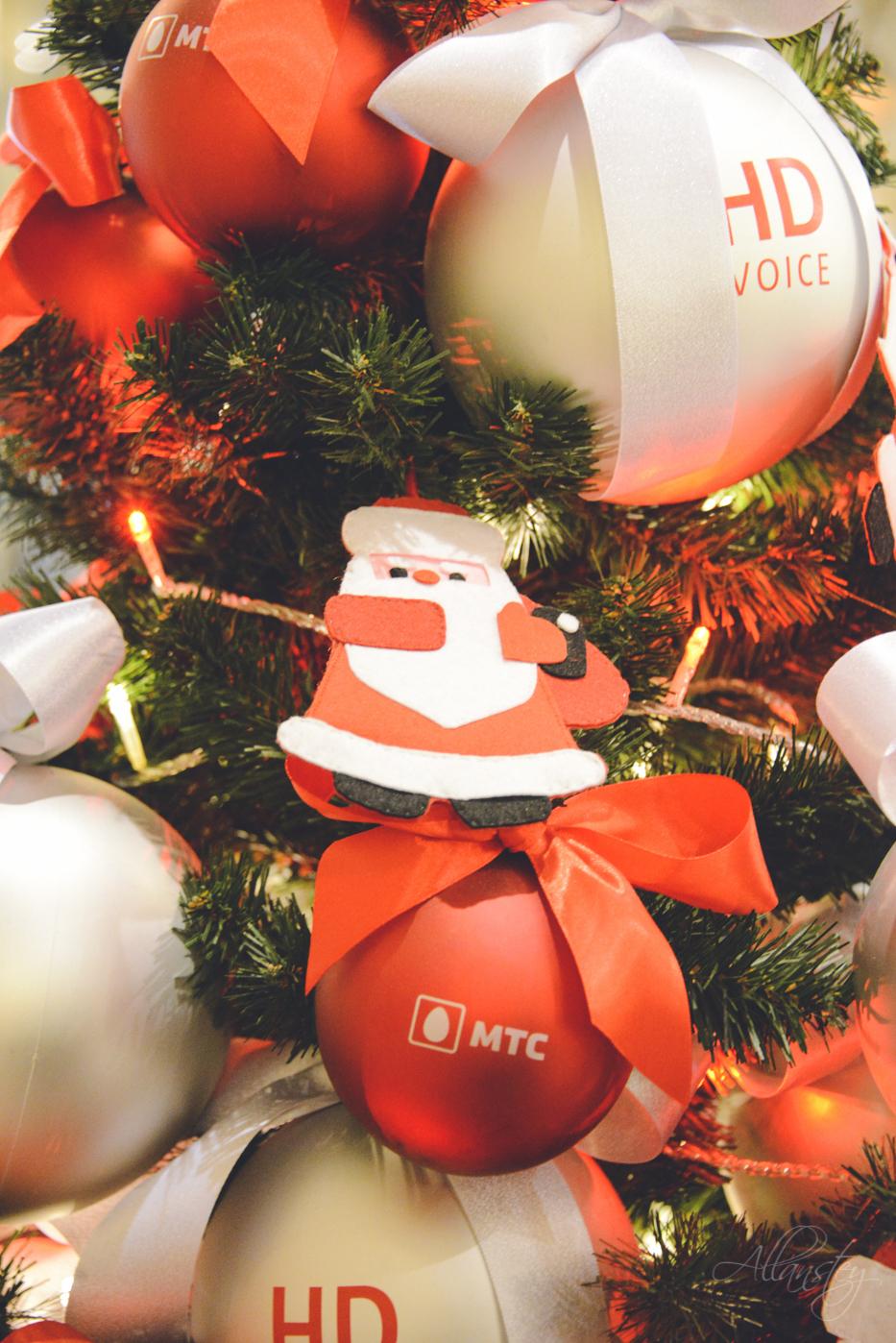 Santa Christmas decoration