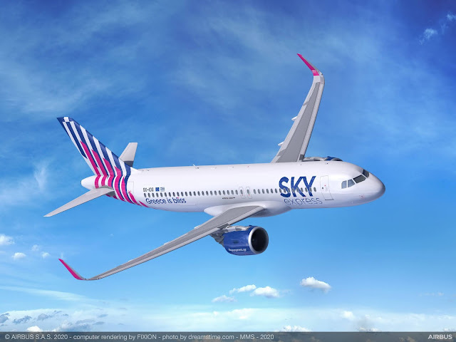 Sky Express orders four Airbus A320neo | MORE THAN FLY
