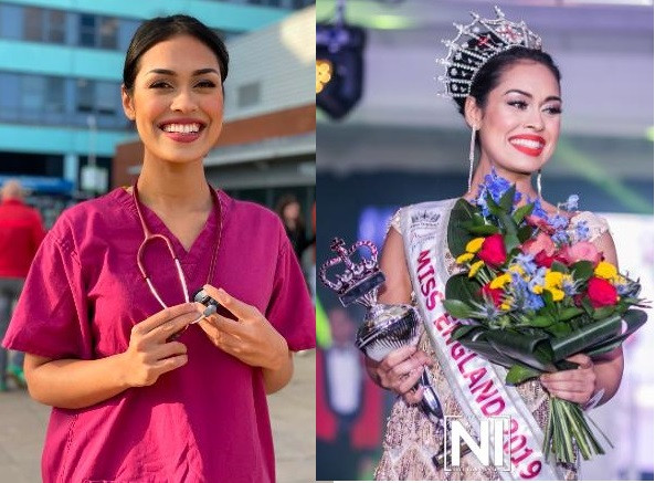 Miss England, Bhasha Mukherjee hangs up her crown to return to work as a doctor during Coronavirus pandemic
