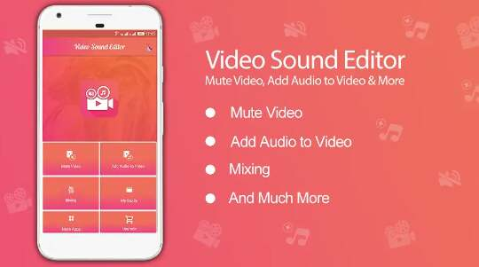 aplikasi Add Audio to video : Audio Video Mixer