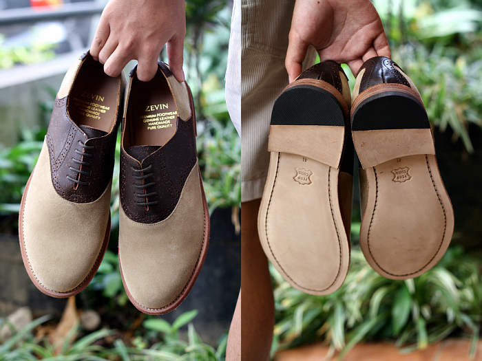 MEN'S FASHION BLOGGER INDONESIA in zevin shoes