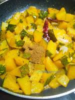 Tasty Kaddu ki Khatti Meethi Sabzi