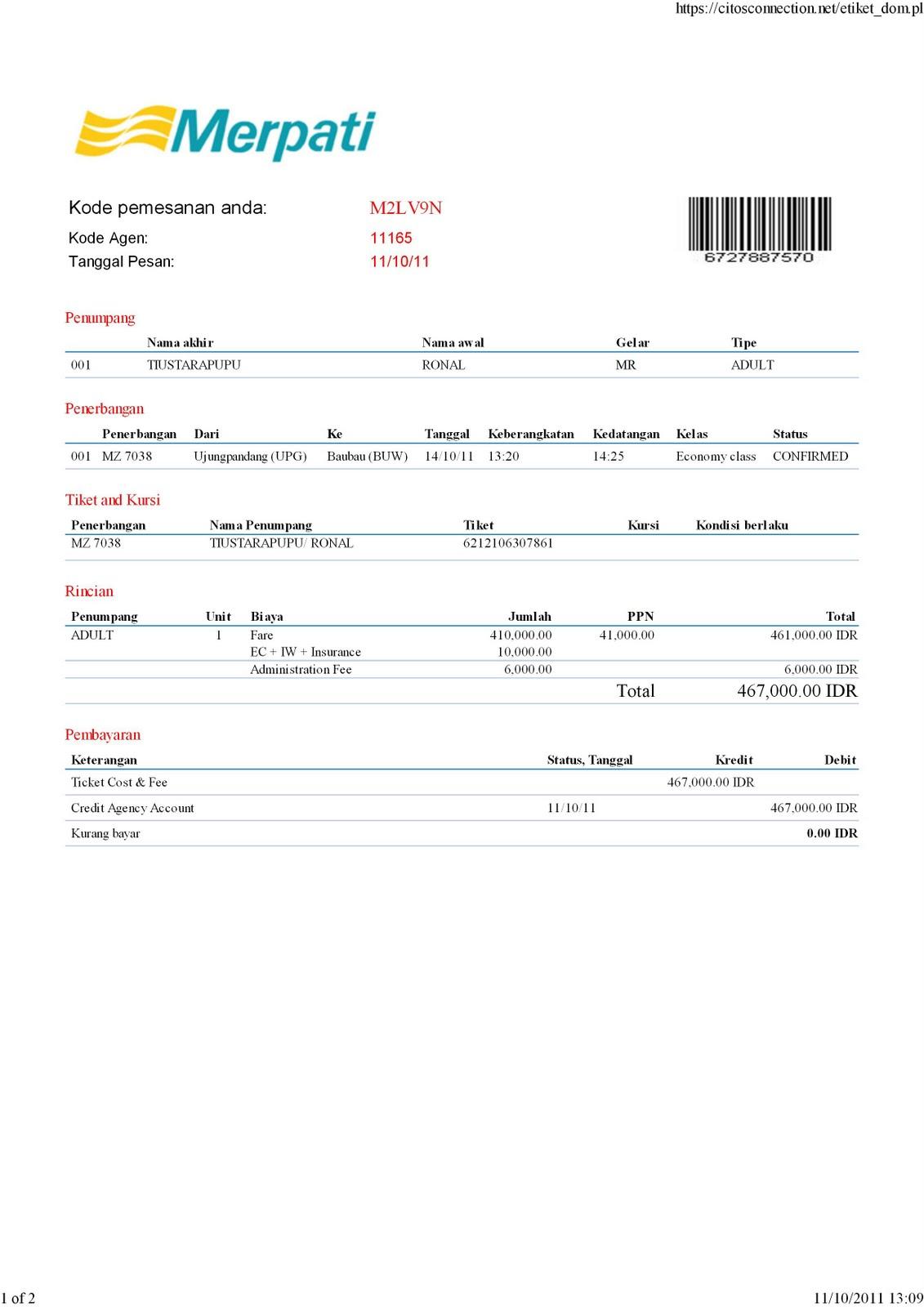 Tiket Express: Tiket Pesawat Merpati Airlines
