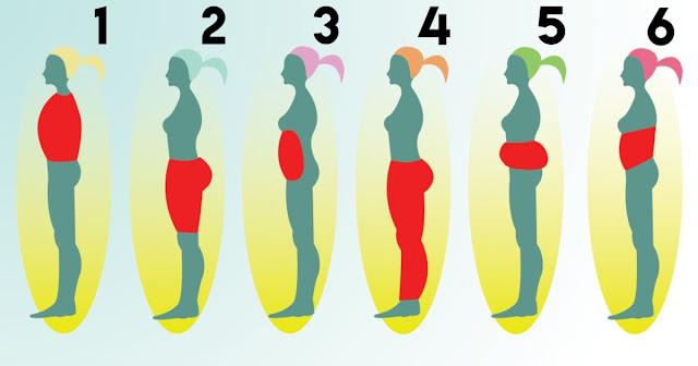 Dites moi où votre corps accumule plus de graisse et je vous dirai la cause et la solution