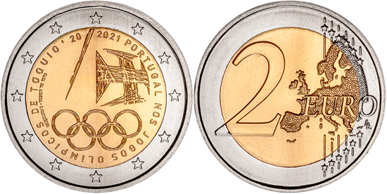 Portugal 2 euro 2021 - Portuguese Participation in the Tokyo Olympic Games