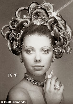 Most Expensive Hair-Style by jeweller Lawrence Graff