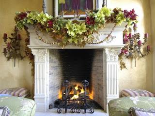 Wintertime decorating