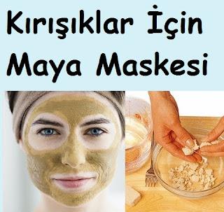 Kırışıklar İçin Maya Maskesi