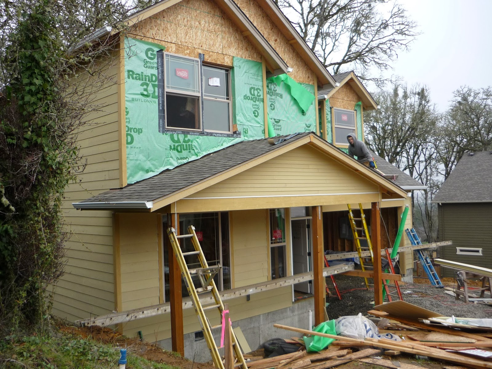 Sparrow Hill House Project Siding And Insulation