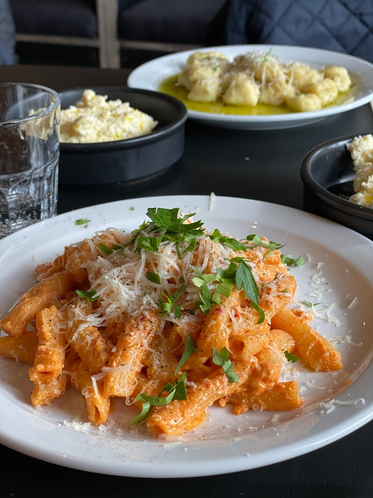 Stitch & Bear - Sprezzatura - Penne pasta with nduja and Toonsbridge ricotta