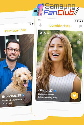Bumble Dating App for Android Samsung Galaxy S10 Plus
