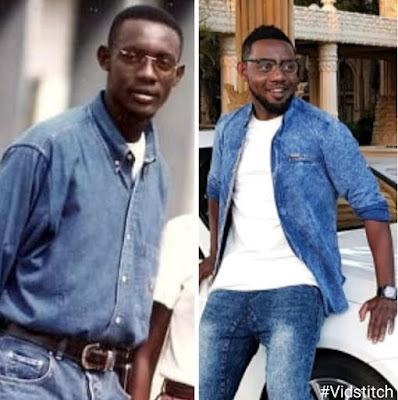 Comedian AY Shares Throwback Photo To Compare How he Looked In 1996 & Present 2017