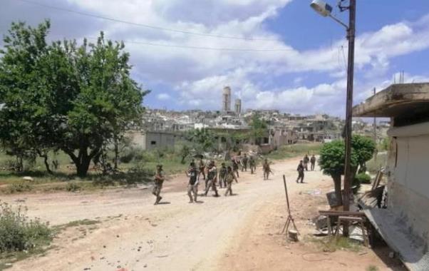 الجيش السوري يستعيد مدينة كفرنبودة الاستراتيجية في ريف حماة,فيديو