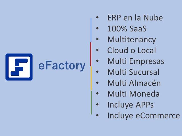 Mayor Analítico Ampliado en eFactory Software de Contabilidad en la Nube