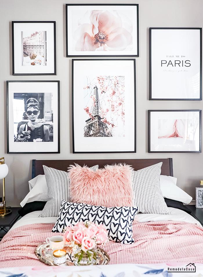 Eiffel tower, Audrey Hepburn, Paris pictures gallery