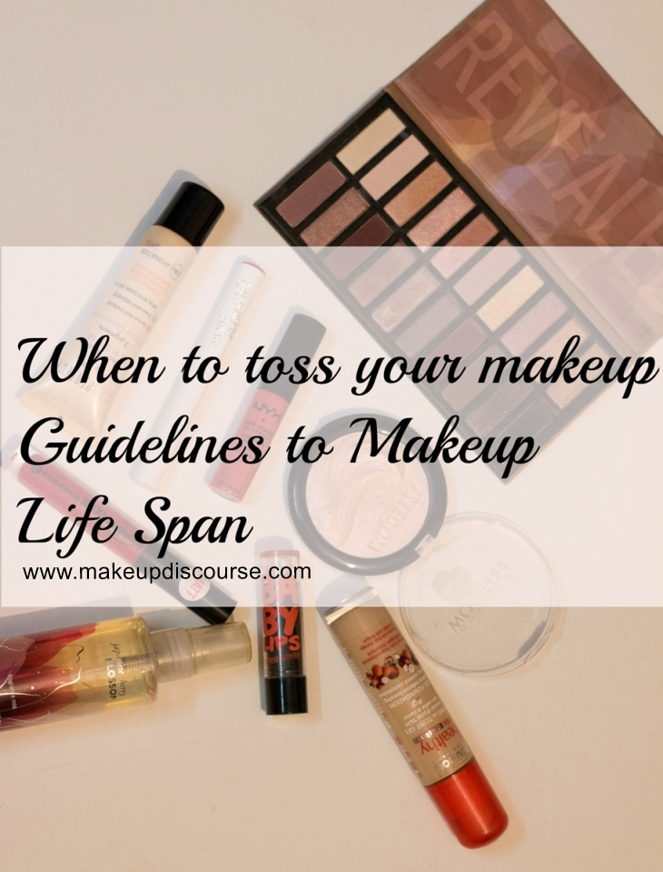 How and When to Toss your Makeup