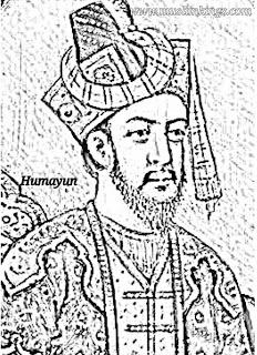 Humayun,Humayun tomb,Humayun's Childrens,Hamida Banu Begum,Humayun Achievments,Humayun in hindi,