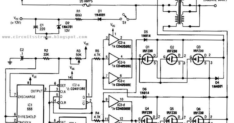 Land House Wiring Diagram For Inverter