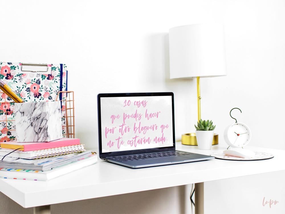 10 cosas que puedes hacer por otro bloguero que no te costarán nada.