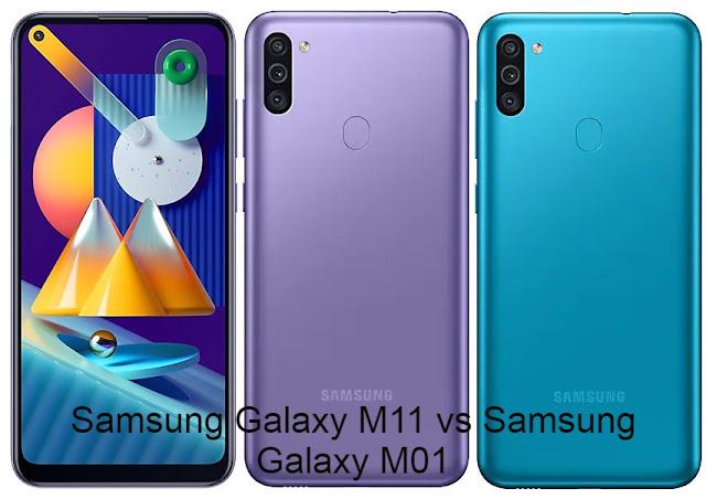Samsung Galaxy M11 vs Samsung Galaxy M01