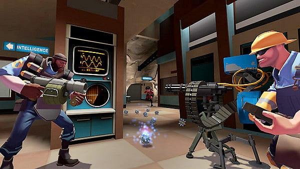 Team Fortress 2 é um dos jogos online mais baixados na Steam