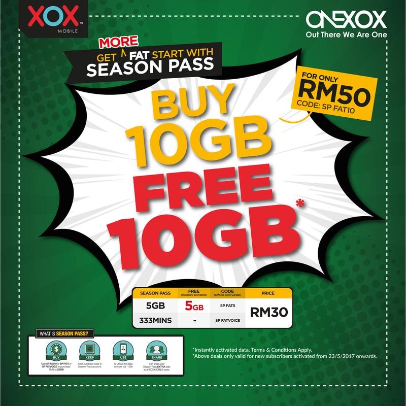Prepaid ONEXOX yang menjimatkan
