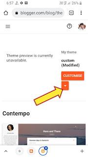 Blogger में थीम template का Backup कैसे ले?