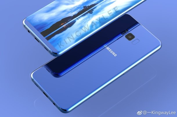 Samsung Galaxy S8 adds blue and purple colours to its cart; Have a look at these sensational leaked images