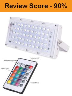 RGB LED Flood Light Multi Color Review