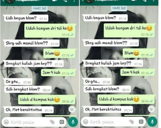 Mahasiswi Ini Tolak Ajakan Selingkuh dari Pria Beristri, Caranya Bikin Tobat, Netizen Pun Salut!