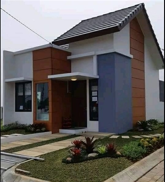 rumah sudut minimalis