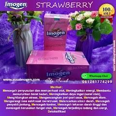 Imogen Strawberry Asli Jadi Langsing Dan Kulit Sehat Alami, Jangan Salah Beli