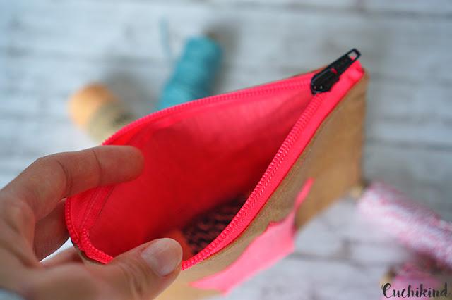 Tasche aus Snap Pap