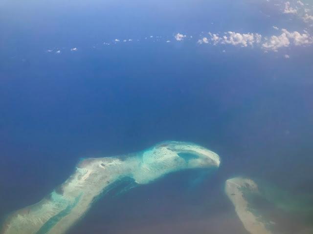 Flying Garuda Indonesia to Ambon, Maluku